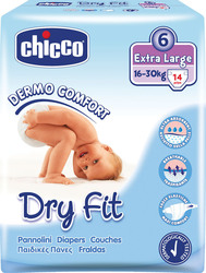 Chicco Dry Fit No 6 (16-30Kg) 14τμχ