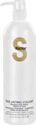 Tigi S Factor True Lasting Colour Shampoo Pump 750ml