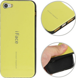 iFace Back Cover Yellow (iPhone 5/5s/SE)