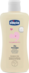 Chicco Baby Moments Λάδι για Μασάζ 200ml