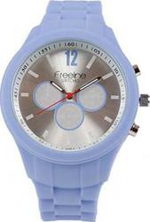 Freeline Fashion Light Blue Silicon Strap 6093A-5
