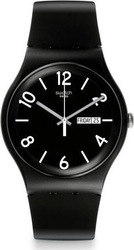 Swatch Unisex Back Up Black Watch SUOB715