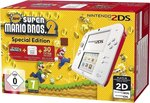 Nintendo 2DS White and Red & New Super Mario Bros. 2 Special Edition