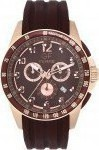 Gianfranco Ferre Chronograph Rose Gold Rubber Strap GFBR13409