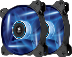 Corsair SP120 LED Blue High Static Pressure 120mm (Twin Pack)