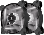 Corsair SP140 LED White High Static Pressure 140mm (Twin Pack)