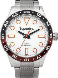 Superdry Men's Retro Sport Stainless Steel Bracelet SYG143SM