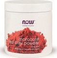 Now Foods Solutions Red Clay Powder Moroccan 170gr