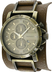 Ferrucci Brown Leather Strap FC2437.02