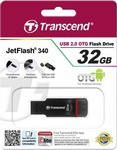 Transcend Jetflash 340 Mobile (OTG) 32GB