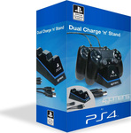 4Gamers Dual Charge 'N' Stand (PS4)