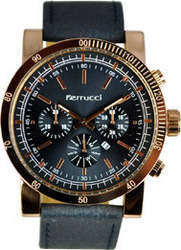 Ferrucci Black Leather Strap FC6510K.02