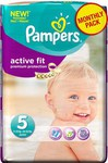 Pampers Active Fit Monthly Pack No 5 (11-25kg) 136τμχ