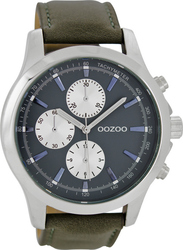 Oozoo Timepieces XL Brown Leather Strap C6771