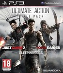 Ultimate Action Triple Pack (Just Cause 2/Sleeping Dogs/Tomb Raider) PS3