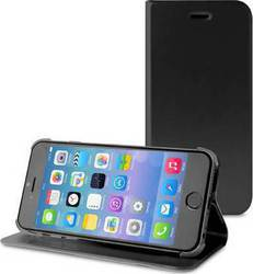 Puro Book Case Black (iPhone 6/6s Plus)
