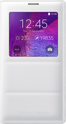 Samsung S-View Flip Cover White (Galaxy Note 4)