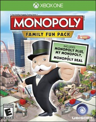 The Monopoly Family Fun Pack XBOX One