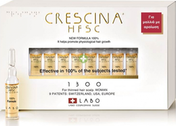 Labo Crescina HFSC 100% 1300 Woman 10 αμπούλες
