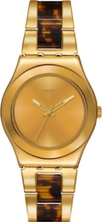 Swatch Chicdream Golden Stainless Steel Bracelet YLG127G