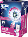 Oral-B Oral B Pro 750 Cross Action Limited Edition Pink + Travel