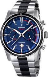 Festina Racing Chronograph Stainless Steel Bracelet F16819/1