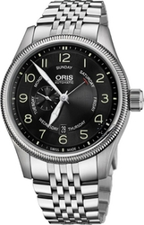 Oris Big Crown Small Second Pointer Day Stainless Steel Bracelet 0174576884064-0782230