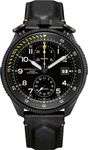 Hamilton Khaki Takeoff Limited Edition Automatic Black Leather Chronograph H76786733