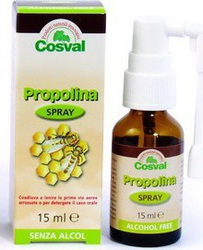 Cosval Propolina Spray Alcohol Free 15ml