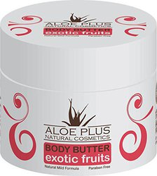 Aloe Plus Natural Cosmetics Body Butter Exotic Fruits 200ml