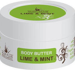 Aloe Plus Natural Cosmetics Body Butter Lime & Mint 50ml