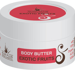 Aloe Plus Natural Cosmetics Body Butter Exotic Fruits 50ml
