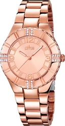 Lotus Classic Ladies Crystals Rose Gold Stainless Steel Bracelet L15908/2