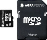 AgfaPhoto microSDHC 8GB Class 10 with Adapter