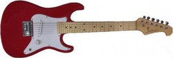 Jack and Danny Strat Mini 3/4 RE-EG1Red