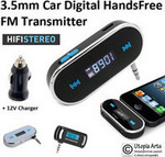 OEM Car Hands-free Music Transmitter F-118