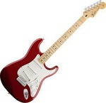 Fender Standard Stratocaster Maple Candy Apple Red