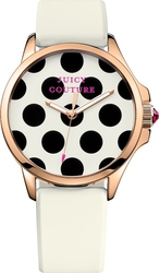 Juicy Couture Jetsetter White Rubber Strap 1901223
