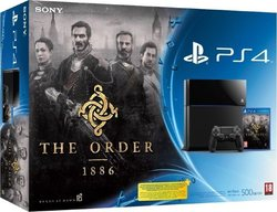 Sony Playstation 4 (PS4) 500GB & The Order 1886