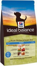 Hill's Ideal Balance Puppy Chicken & Brown Rice 12kg