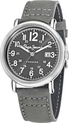 Pepe Jeans Sport Grey Leather Strap R2351105006