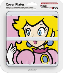 Nintendo Cover Plate 004 Peach New 3DS