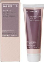 Korres Γαλάκτωμα Σώματος Velvet Orris / Violet / White Pepper 125ml