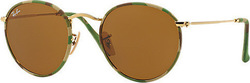 Ray Ban Round Camouflage RB3447JM 169