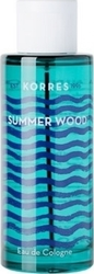 Korres Eau De Cologne Summer Wood 100ml