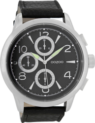 Oozoo Timepieces Brown Leather Strap C7059