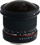 Samyang 8mm f/3.5 Asph IF MC Fisheye CSII DH (Sony A-Mount)