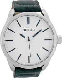 Oozoo Blue Leather Strap C7072
