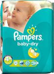 Pampers Baby Dry No 4+ (9-20Kg) 41τμχ