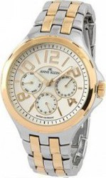 Anne Klein Stainless Steel And Gold Plated 10-9645MPTT